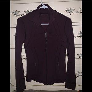 Lululemon jacket. Deep wine color!